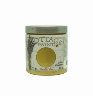 District Design Cottage Paint Metallic Wax 237ml