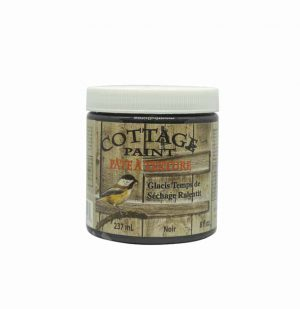 District Design Cottage Paint Pâte à texture 237ml noir